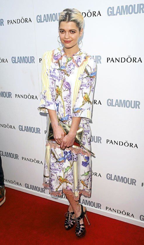 Pixie Geldof en House of Holland