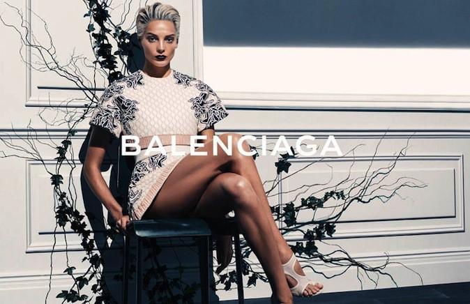 Daria Werbowy pour Balenciaga !