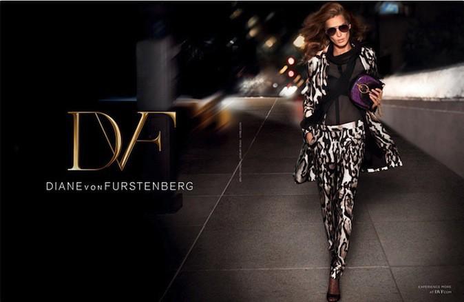 Daria Werbowy pour Diane Von Furstenberg !