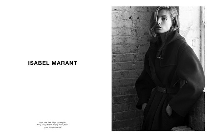 Daria Werbowy pour Isabel Marant !