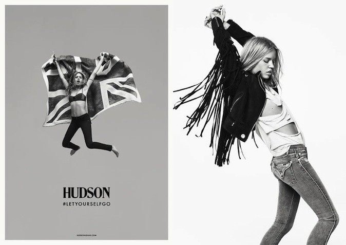Georgia May Jagger pour Hudson Jeans !