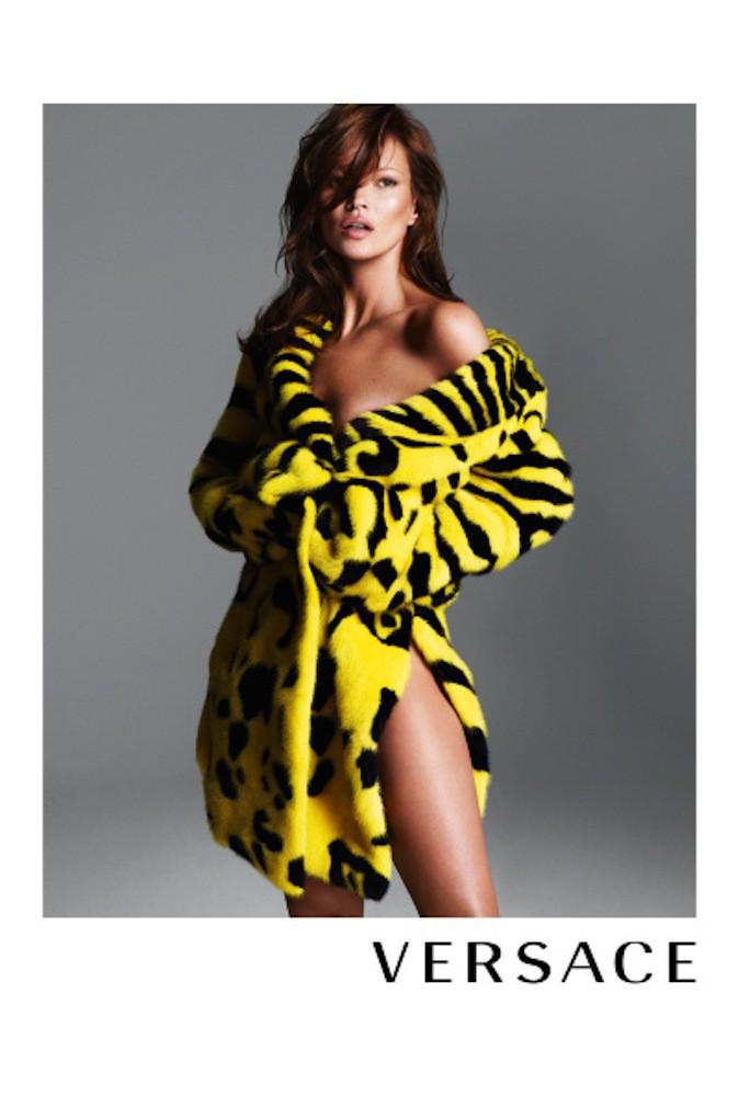 Kate Moss pour Versace !
