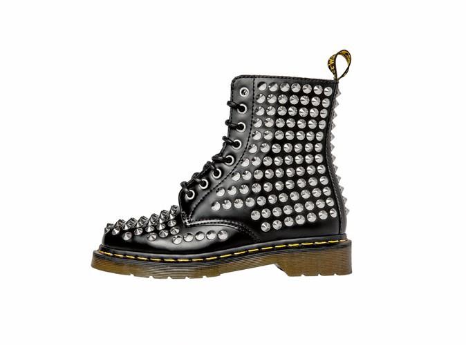 Boots cloutées en cuir, Dr Martens sur zalando.fr 350 €