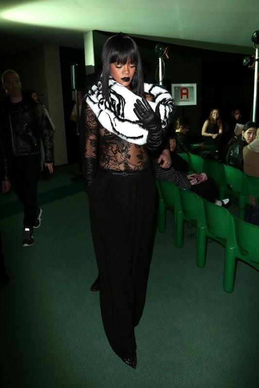 Rihanna au défilé Jean Paul Gaultier