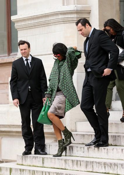 Rihanna au défilé Stella McCartney