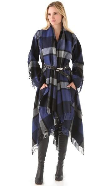 Le fameux manteau Donna Karan, pièce phare de cet hiver !