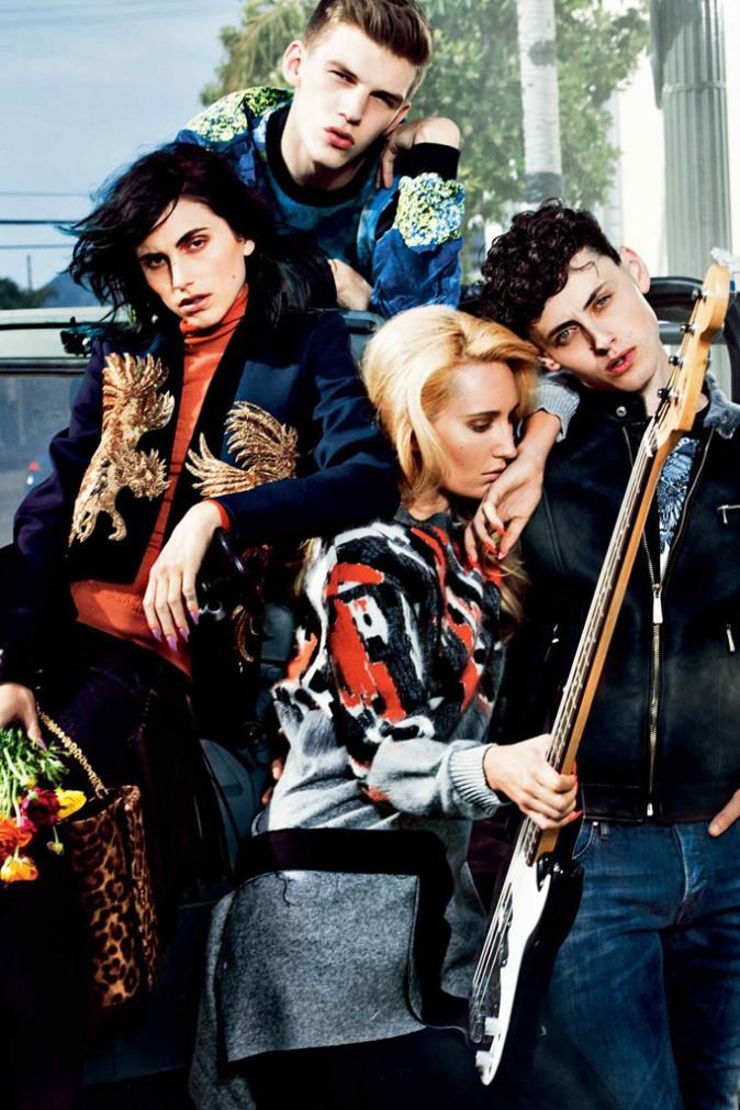 Mode : Roberto Cavalli dévoile sa collection rebelle et rétro pour Just Cavalli !