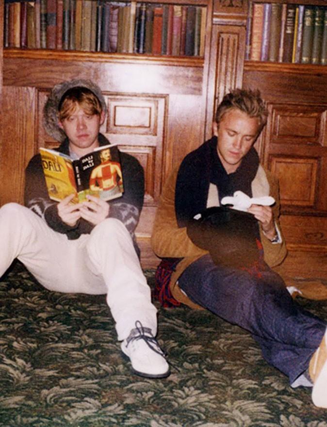 Ambiance studieuse avec Rupert et Tom !