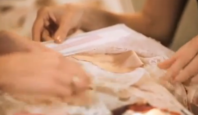Rosie Huntington Whiteley créatrice de la ligne de lingerie Autograph pour Mark & Spencer !