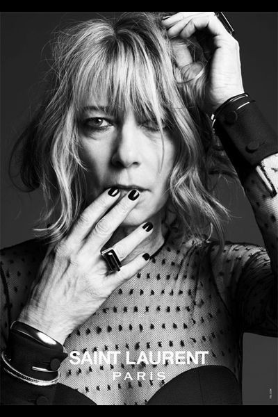 Mode:  Saint Laurent Paris: Luxe, Grunge & Rock n'roll