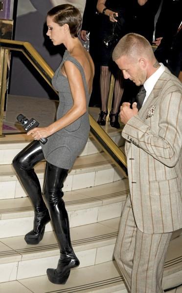 Les chaussures d'équilibriste de Victoria Beckham