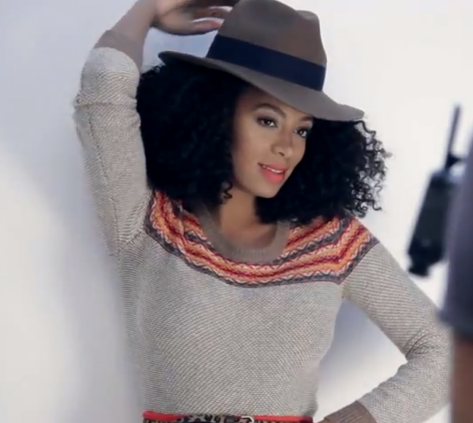 Solange Knowles Pour Madewell automne 2012!