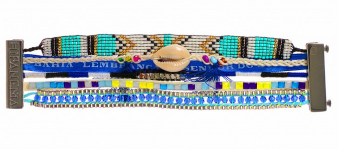 Bracelet Fluo Blue, Hipanema 49 €