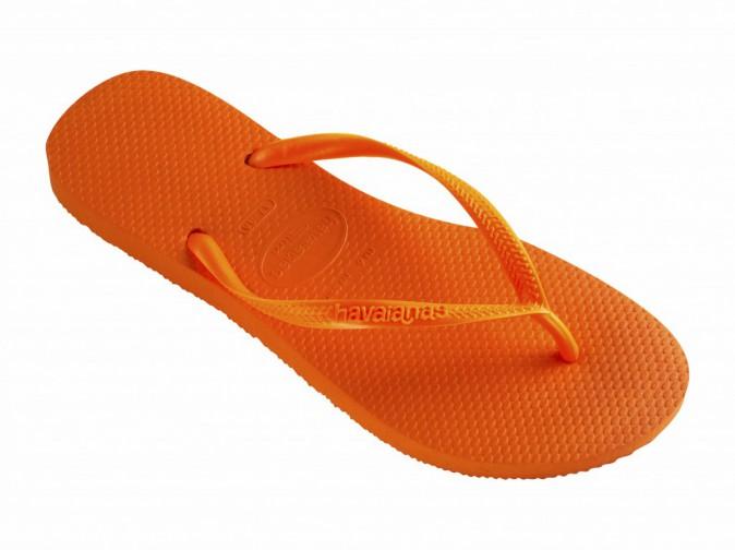 Tongs Havaianas Slim orange 26 €
