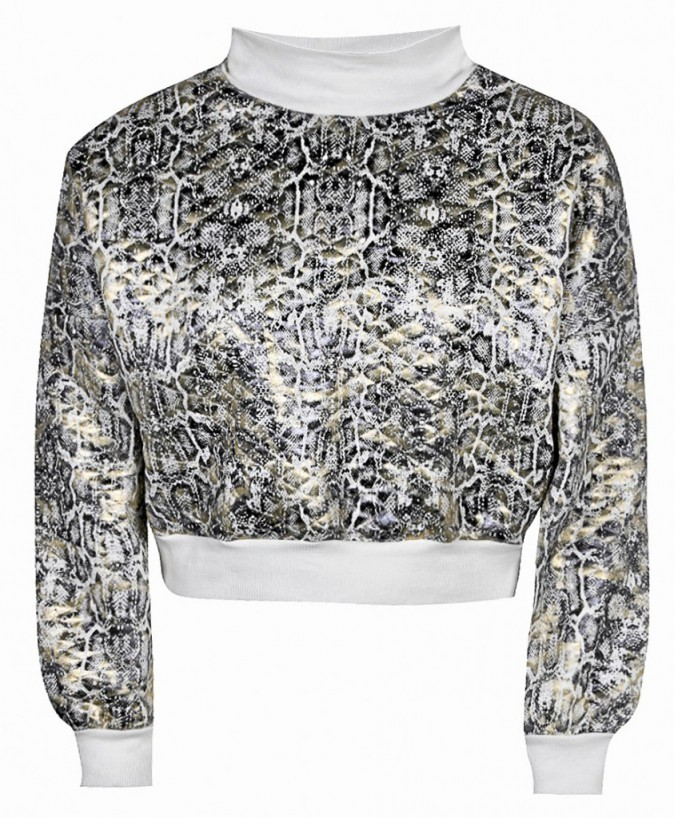 Crop top sweat, boohoo, 30€