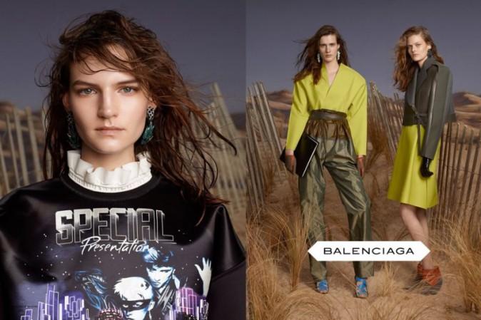 Balenciaga et ses sweats inspiration Star Wars pour l'automne-hiver 2012-2013 !