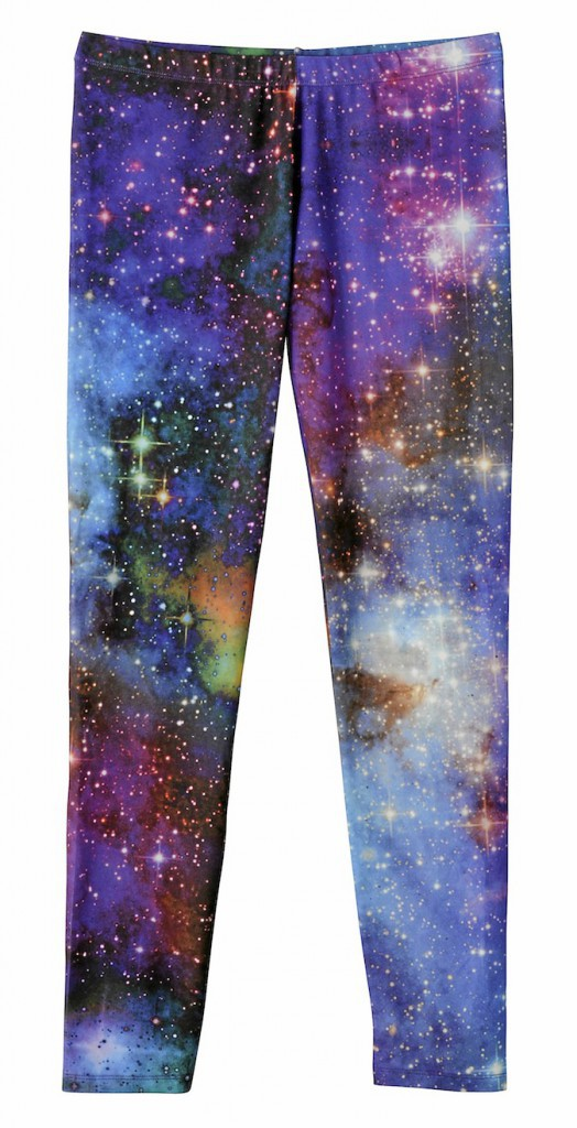Leggings Galaxy en polyester, Kiabi 10 €