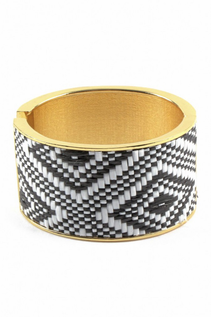 Bracelet jonc ethnique, Mim 5,99€