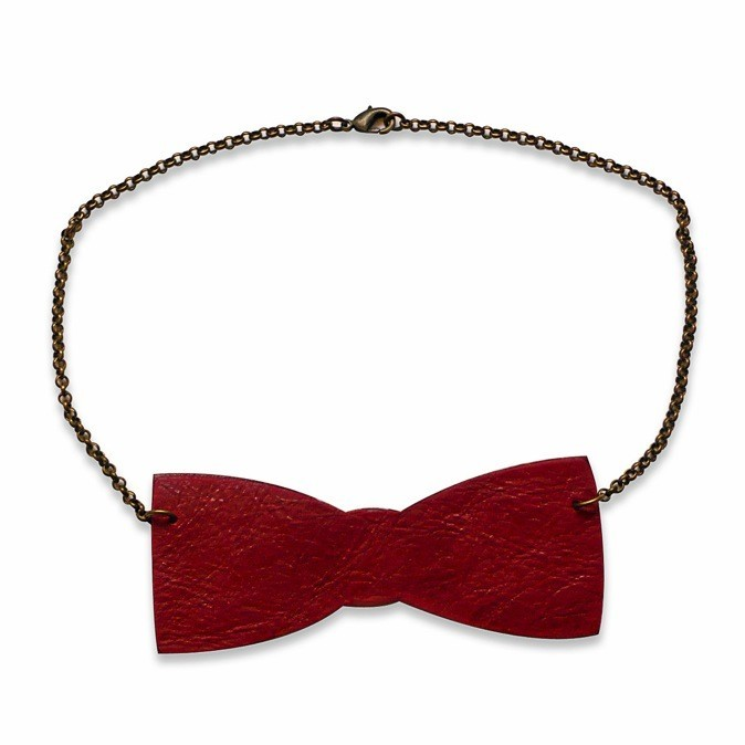 Collier noeud papillon, Miss Sugar Cane, 18€