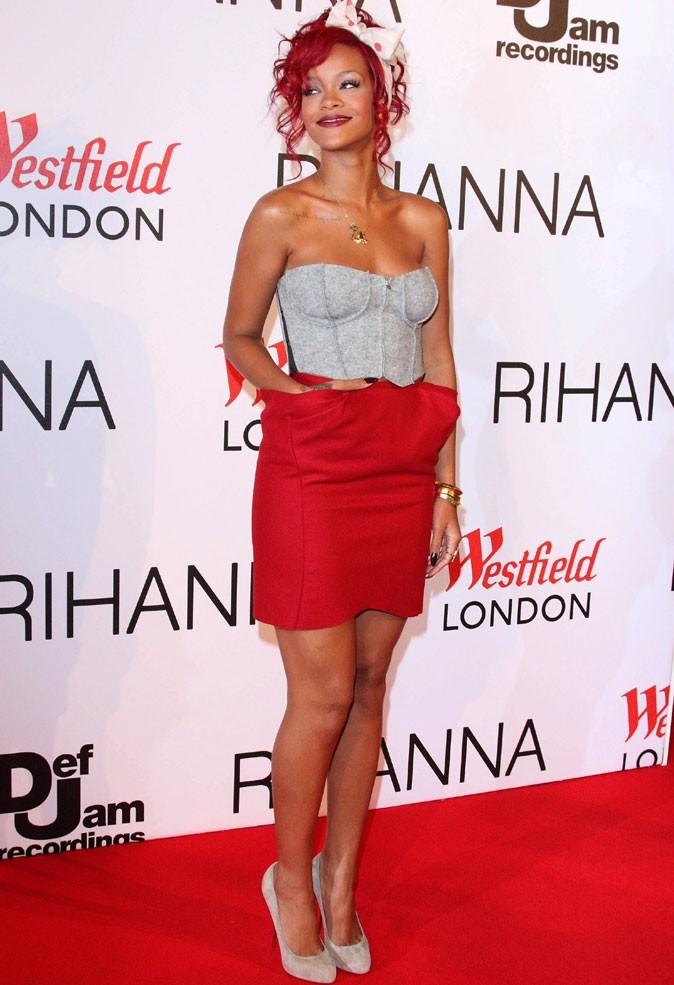 Le corset de Rihanna sur tapis rouge !