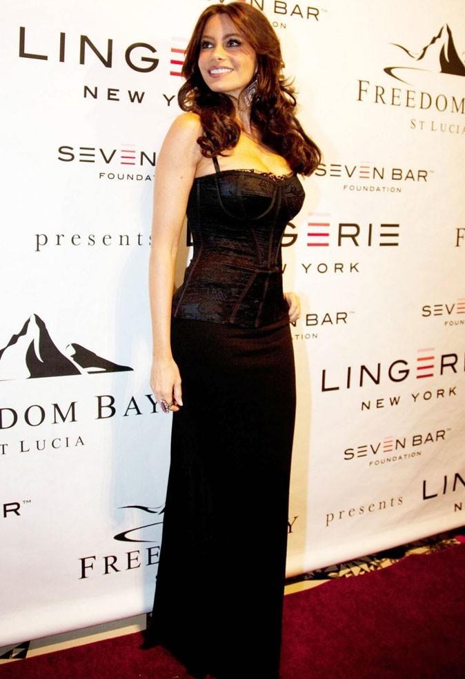 Le corset de Sofia Vergara sur tapis rouge !