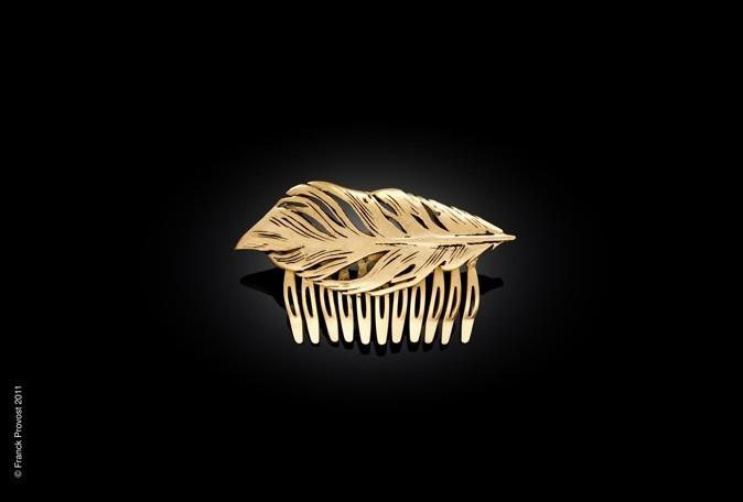 Mode: Une ligne de bijoux glamour pour cheveux signée Franck Provost pour le 64 ème festival de Cannes