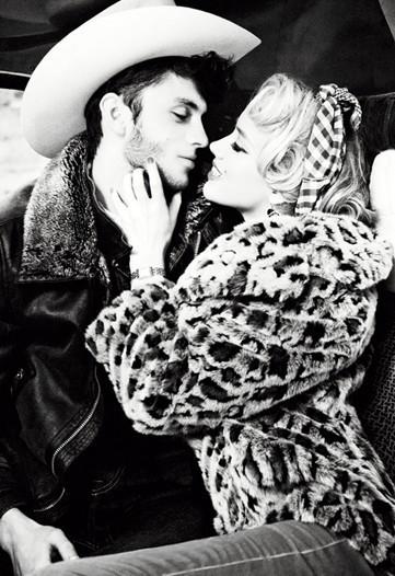 Un couple glamour avec le mannequin Silviu Tulu !