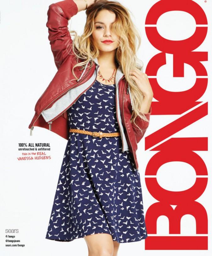 Vanessa Hudgens : fière de sa campagne Bongo non-retouchée !