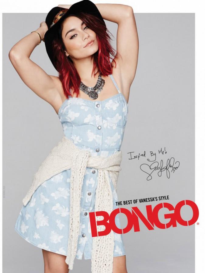 Mode : Vanessa Hudgens : sexy et espiègle, elle remet le couvert avec Bongo !