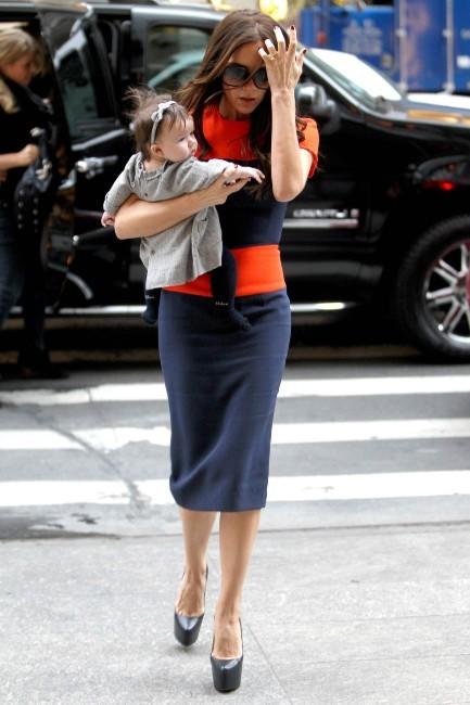 Victoria et Harper à New York pour une séance shopping