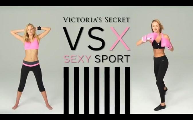 Leçon de sport version top avec Candice Swanepoel et Erin Heatherton pour Victoria's Secret !