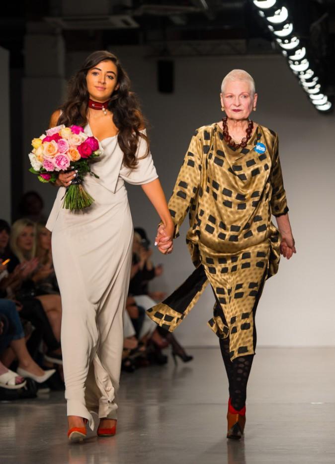 Défilé Vivienne Westwood le 14 septembre 2014