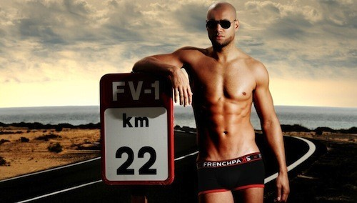 Xavier Delarue, l'égérie hot de la campagne de boxers Frenchpaks !