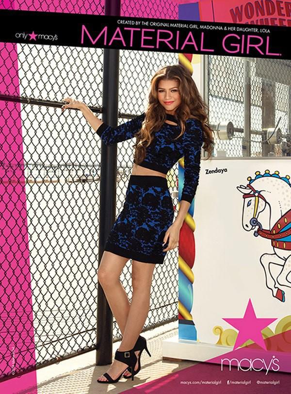 Mode : Zendaya Coleman choisie par Madonna pour être la nouvelle égérie de Material Girl !