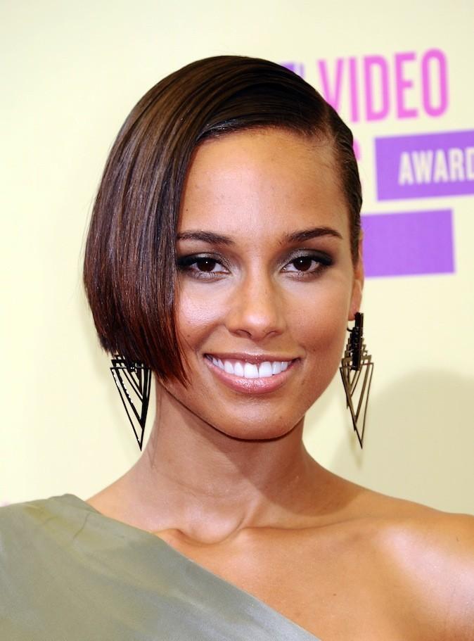 Alicia Keys : le carré !