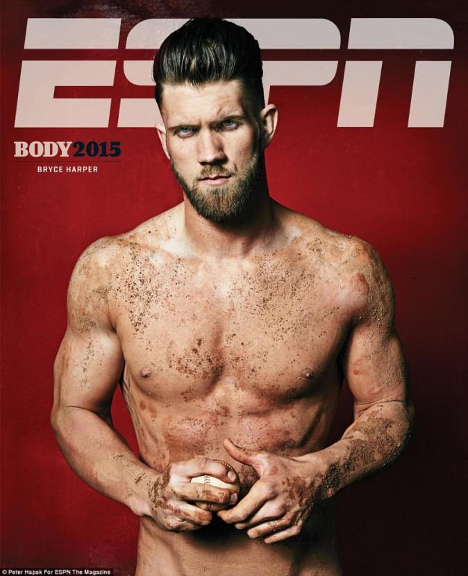 Bryce Harper pour ESPN magazine