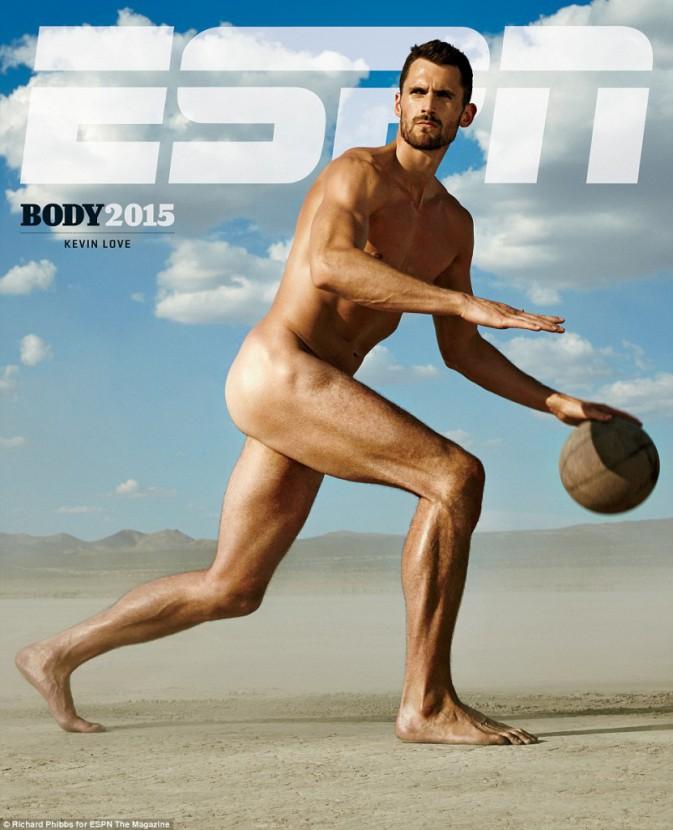 Kevin Love pour ESPN magazine