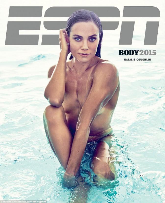 Natalie Coughlin pour ESPN magazine