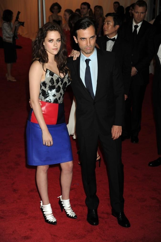Kristen Stewart et Nicolas Ghesquière