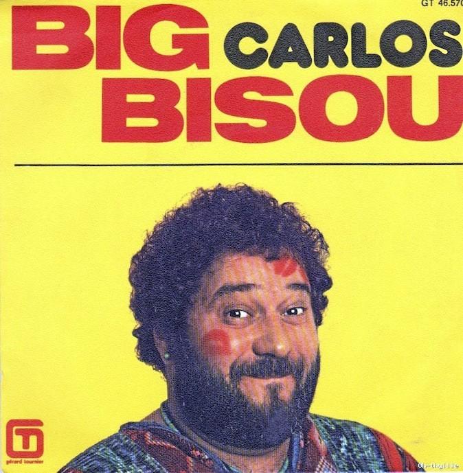 Disque 45 tours Big bisou de Carlos 7 €