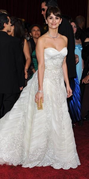 La robe de mariée de Penélope Cruz