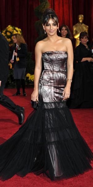 La robe sirène de Monica Cruz