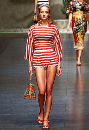Défilé Dolce & Gabbana printemps- été 2013