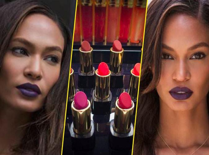 Photos : Après Kendall Jenner, Joan Smalls lance sa gamme de lipsticks Estée Lauder !