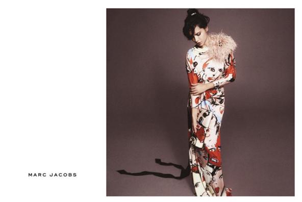 Adriana Lima pour Marc Jacobs