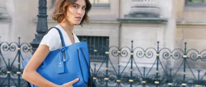 Alexa Chung pour la campagne printemps-été 2016 Longchamp
