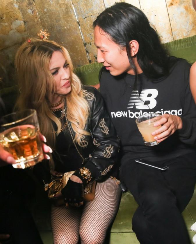 Alexander Wang et Madonna