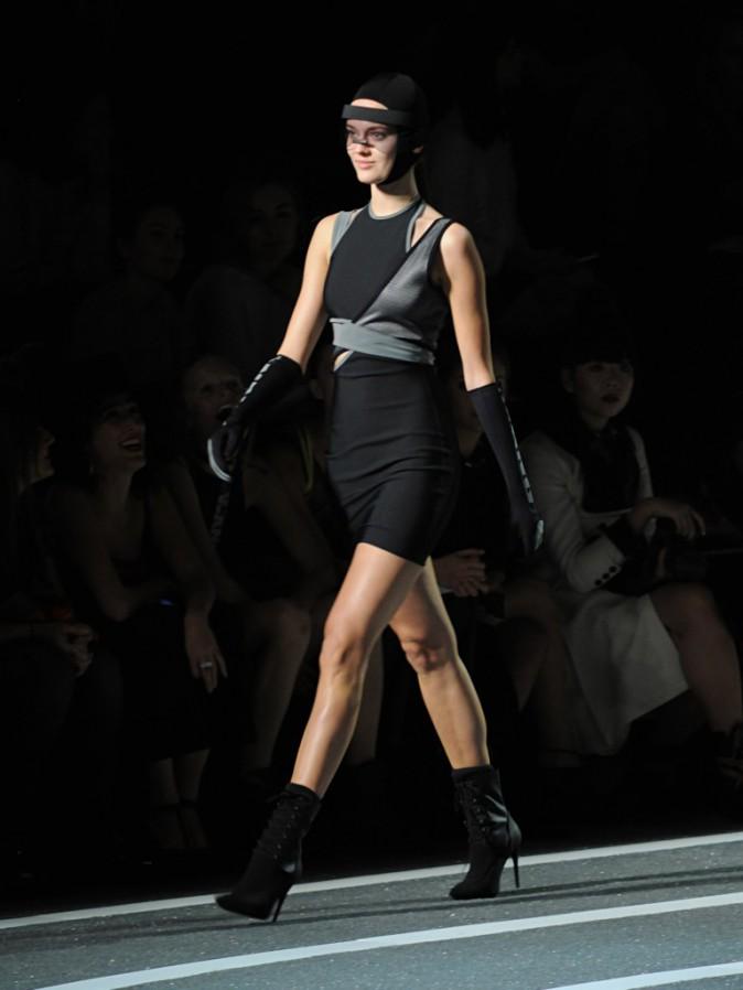 Jac Monika Jagaciak (Victoria's Secret) au défilé Alexander Wang