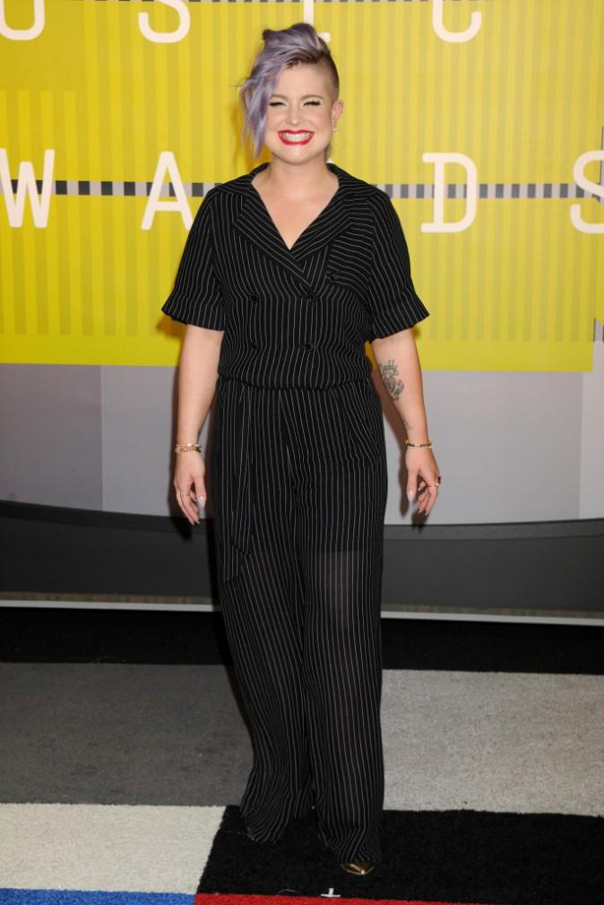 Kelly Osbourne en tenue Jerome CRousseau