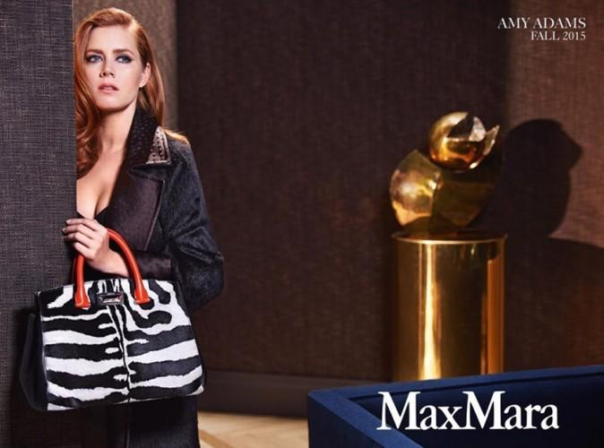 Photos : Amy Adams, une Hollywood Girl chic pour la nouvelle campagne Max Mara !